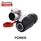 CNLINKO M24 Waterproof Power Signal Plug Socket Multi Pin Male Female Cable Connector