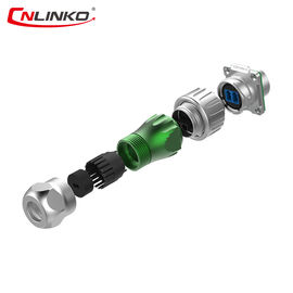 China DH24    ODLC  Waterproof Fiber Optic Connectors ,  Waterproof Cable Connector  For Patch Cord / Patch Cable factory