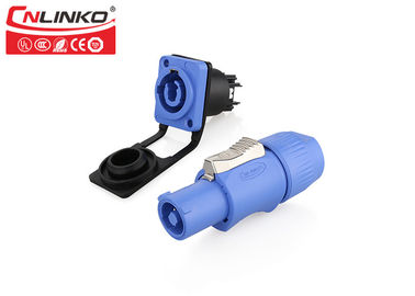 Cnlinko Powercon 20A Power Waterproof Circular Connectors Screw Terminal