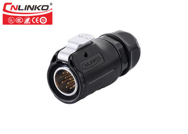 China 12 Pins Multicore Welding Male Female Wire Connectors CNLINKO M20 Field Assembly factory